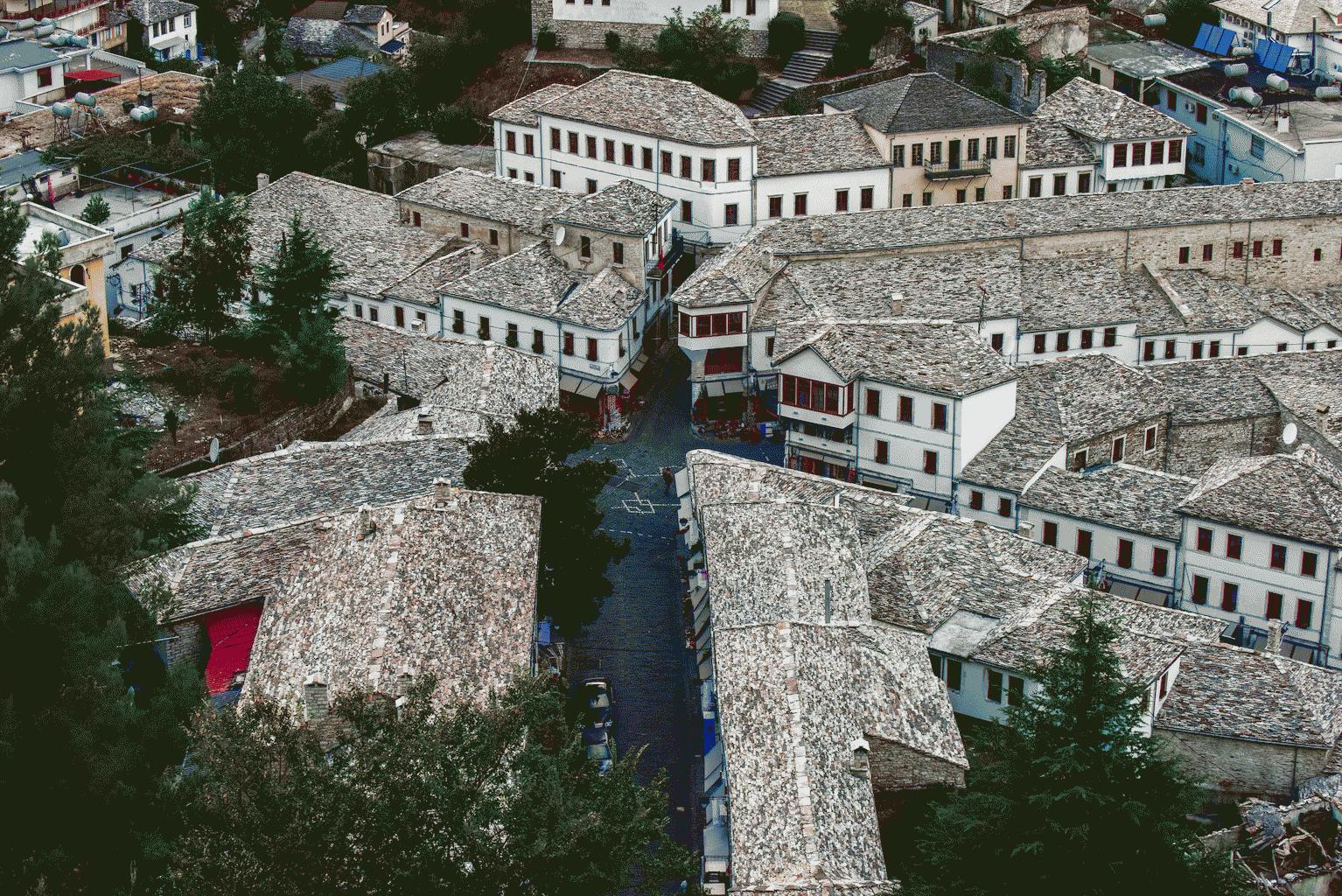 Green Coast Albania Museum city Gjirokastra